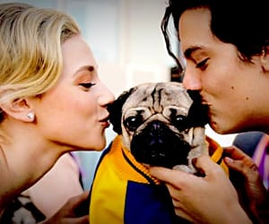 Betty, cole, and dog image