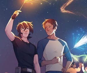 gay, keith x lance, and klance voltron image