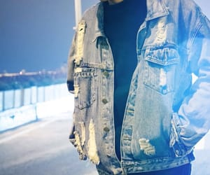 asian, dancer, and jean jacket image