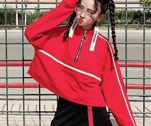 belt, red, and red jacket image