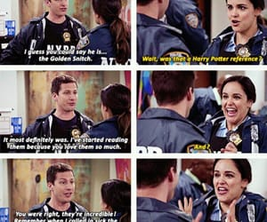 harry potter, brooklyn nine nine, and jake peralta image