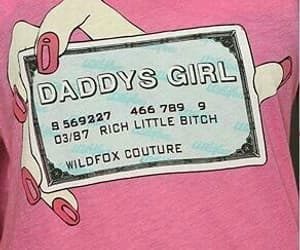 pink, daddy, and rich image