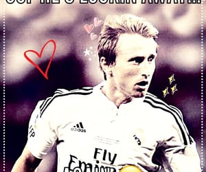 football, real madrid, and modric image