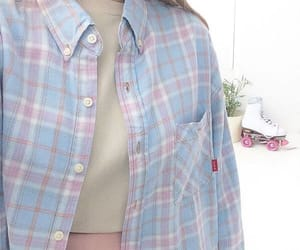baby blue, pastel blue, and blue flannel image