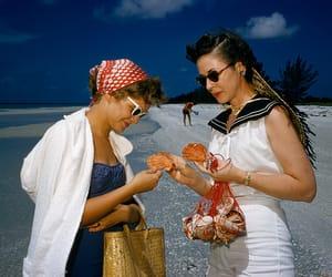 50s, beach, and fifties image