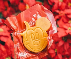 cookie, dessert, and mickey image