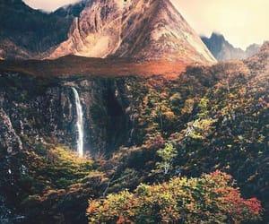autumn, mountains, and scotland image