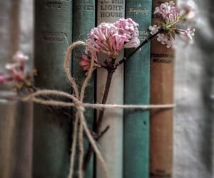 book and lilac image