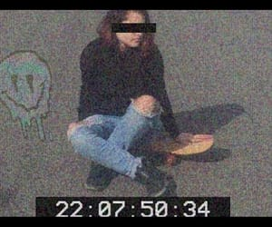 distortion, grunge, and video image