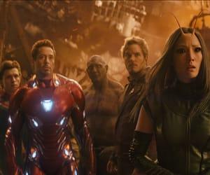 mantis, drax, and iron man tony stark image