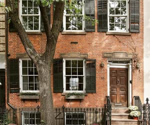 brownstone, historic, and nyc image
