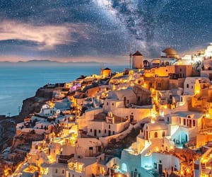 beautiful, Greece, and santorini image