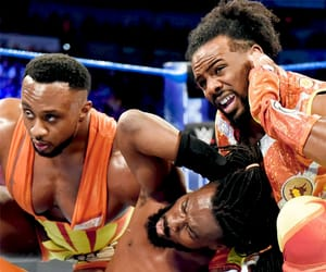 wwe, big e, and kofi kingston image