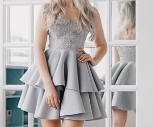 grey homecoming dresses and silver homecoming dresses image
