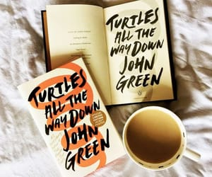 article, john green, and turtles all the way down image