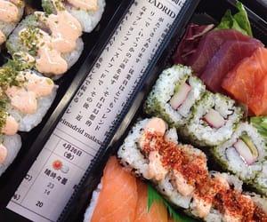 aesthetic, chinese, and sushi image
