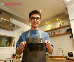 cooking, exo k, and cook image