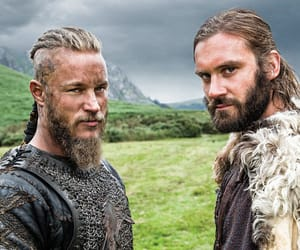 vikings, travis fimmel, and rollo image