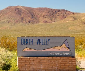 national parks and death valley image