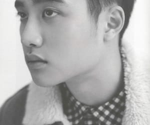black and white, exo, and d.o. image