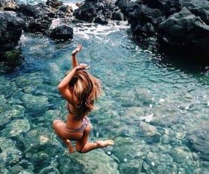 tropical, bikini, and girl image