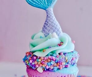 cupcake, sprinkles, and sweets image