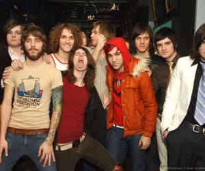 brendon urie, fall out boy, and pete wentz image
