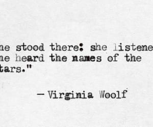 listen, virginia woolf, and stand there image