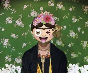 Frida, frida kahlo, and emoji image