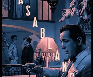 1940s, art, and Casablanca image