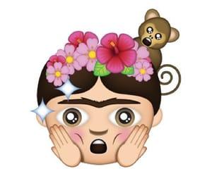 emoticon, méxico, and Frida image