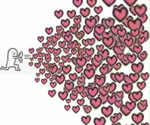 meme, reaction, and heart image