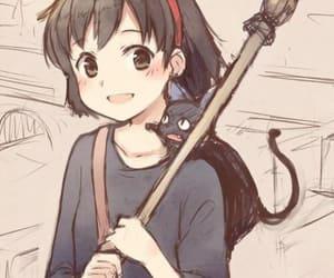 anime, kiki, and shoujo image