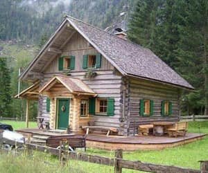 log cabin image