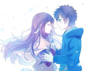 anime, hikari, and cute image