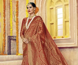 banarasi, sari, and designer saree image
