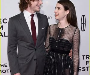 elegant, emmaroberts, and evanpeters image