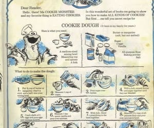 cookie monster, Cookies, and illustration image