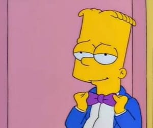 bart simpson, happy, and snatched image