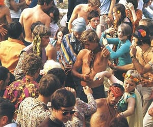 60s, festival, and hippie image