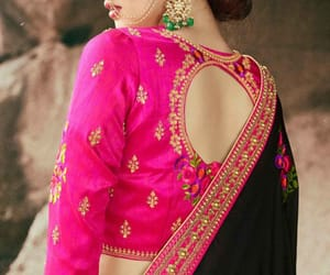 blouse, designer blouse, and saree blouse image
