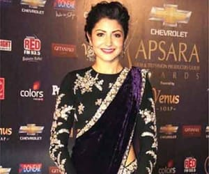 bollywood, anushka sharma, and designer saree image