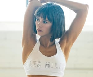 actress, fit, and fitness image