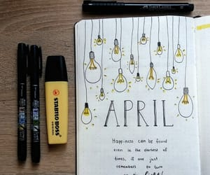 calligraphy, harry potter, and light bulbs image
