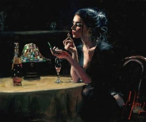 alcohol, art, and black image