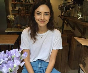 beautiful, coffee shop, and cutie image