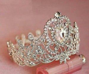 princess, diamonds, and girly image