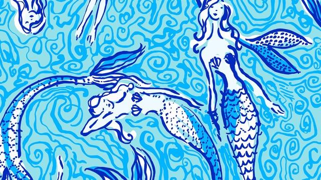 fantasy, sea, and seashell image