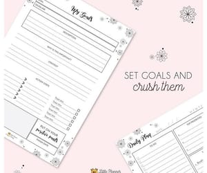 goals, quotes, and printables image