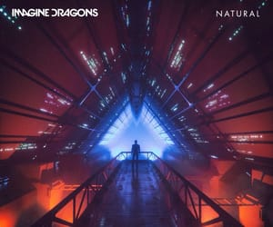 natural, imagine dragons, and music image